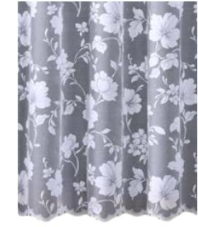 Easy Sheer Curtains Fiori I 250 cm