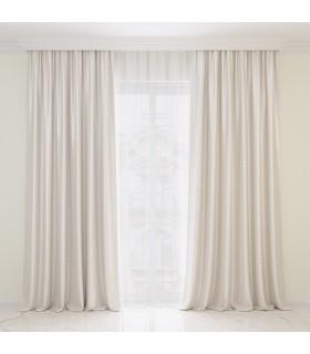 2 Curtains Gioia Pearl