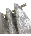 Eyelet Curtain Bella Silver