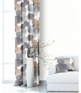 Modern Curtain Atlas Grey