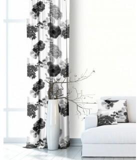 Modern Curtain Bouquet Grey