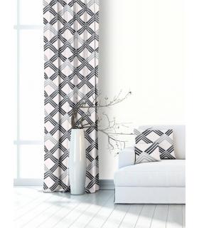Modern Curtain Sara Grey