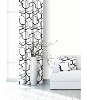 Modern Curtain with Curtain Tape