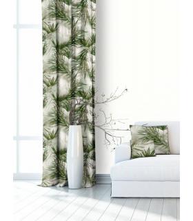 Modern Printed Curtain
