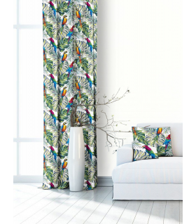 Modern Printed Curtain with floral pattern
