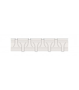 Curtain Tape Smock Pleat 25 mm