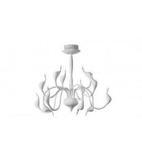 Белые современные люстры Glamour 75x66cm