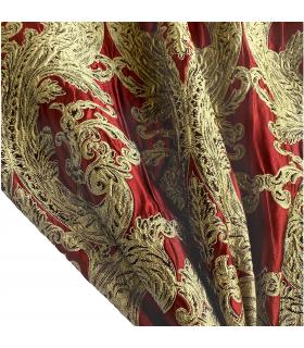 Luxury Elegant Double  Curtains Monte Carlo