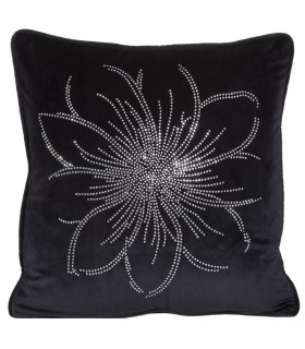 Cushion Fiore Nero