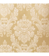 Gold, Jacquard Curtain  with Classical White pattern