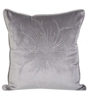 Cuscino Fiore Argento