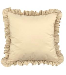 cuscino con frangia