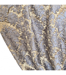 Luxury Classical Curtain blue-gold, Baccarda Collection