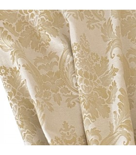 Elegant Curtain  Verona Cream - Gold