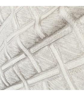 Современная, Роскошная Жаккардовая Штора, Цвет кремовый, светло-серый, Коллекция New York, Baccarda