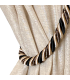 Luxury, Modern Curtain,  color champagne, collection New Milano, Baccarda,