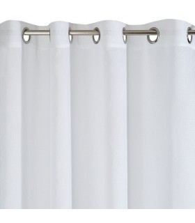 Light curtain with eyelets, 140 x 250 cm