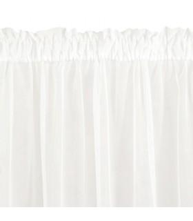 Curtain Rod Pocket Lea Cream 350x250cm