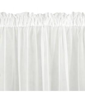Curtain with Curtain Tape Lea Cream 140x250cm