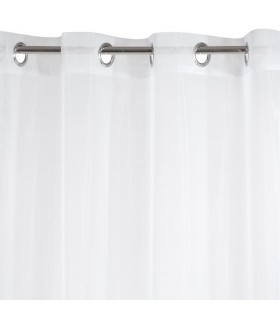 Light curtain with eyelets, 135 x 250 cm