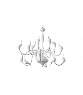 White Modern Chandeliers Glamour 85x145cm
