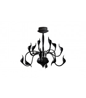 Modern Lamp Glamour in Black color 75x66cm