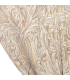 Beautiful Jacquard Double Curtain in cream color with white motive