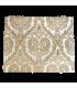 Роскошный Плацмат для стола Valentina, изготовленный из классического, кремового жаккарда