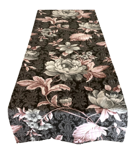 Beautiful Runner with Floral motive