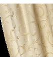 Elegant Curtain  Rome Cream - Gold