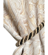 Beautiful Jacquard  in cream color with white motive