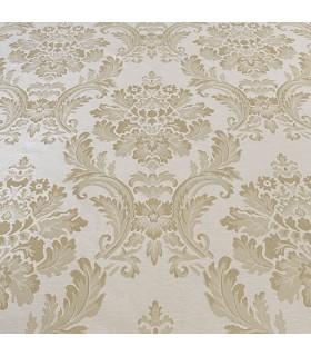 Tissu pour Rideaux Verona Cream - Gold
