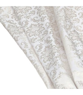 Jacquard Fabric for Curtains beige