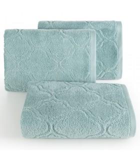 Asciugamano disegno Ornamentale, Colore Menta, 70 x 140 cm