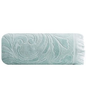 Jacquard Design Towel, Mint color, 50 x 90 c