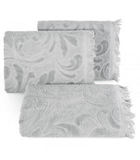 Jacquard Design Towel, Grey color, 50 x 90 c
