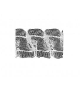 Nastro Per Tende Piega Plissettata Doppia 25 mm