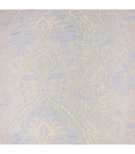 Luxury Modern Curtains Gold and Blue