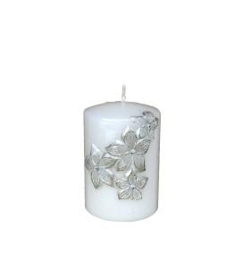 Candle Dalia White S