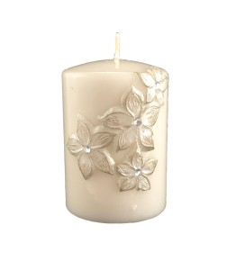 beautiful decorative cream Candle