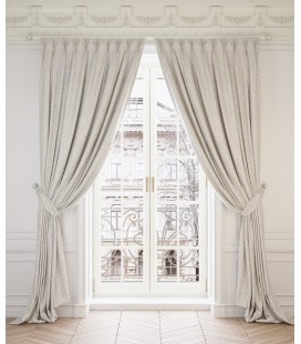 2 Curtains  Ginevra Pearl
