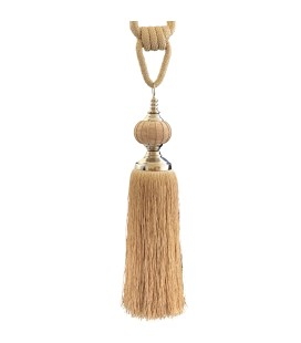 Tassel for curtains gold