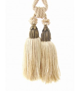 Tassel for curtains gold with crystals