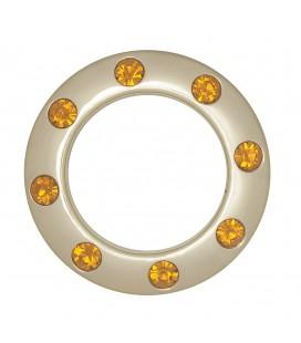 Eyelets avec Crystals 35,5 mm