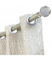 Eyelet Curtain Malvina Silver