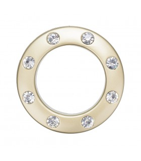 Eyelet with Crystals 35,5 mm