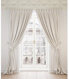 SET OF 2 CLASSICAL CURTAINS